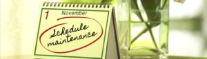 Nov 1 Schedule Tuneup