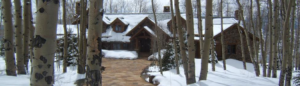Snow Covered House - Climate Control Company