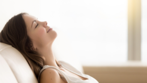 Woman Relaxing - Climate Control Company