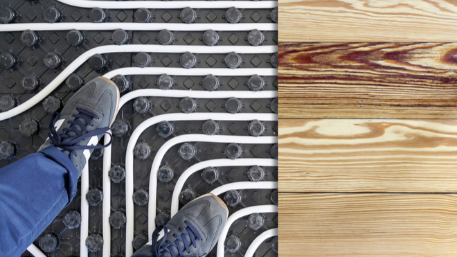 Radiant Heating vs. Forced Air Heating